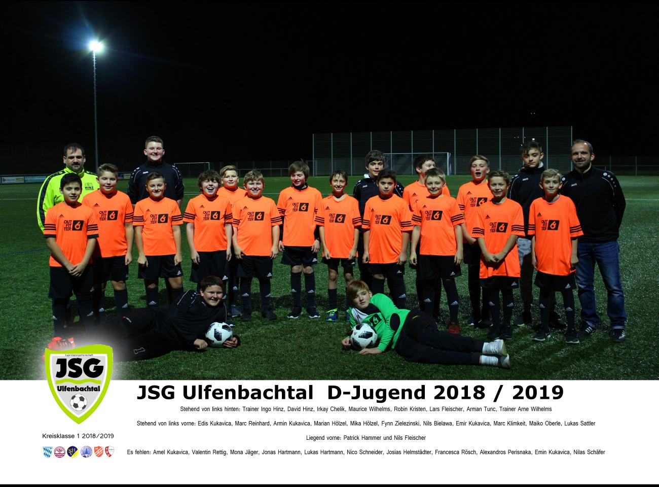 Mannschaftsfoto D-Jugend